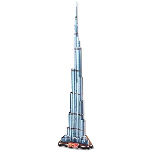 Cubic Cubic Fun 3D 92 Parça Puzzle Burj Khalifa Renkli